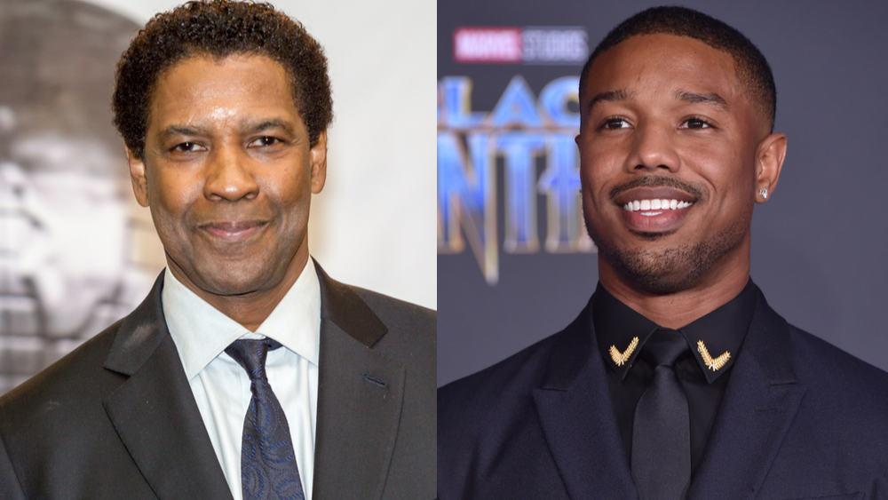 Michael B. Jordan Stars in Denzel Washington's New Film