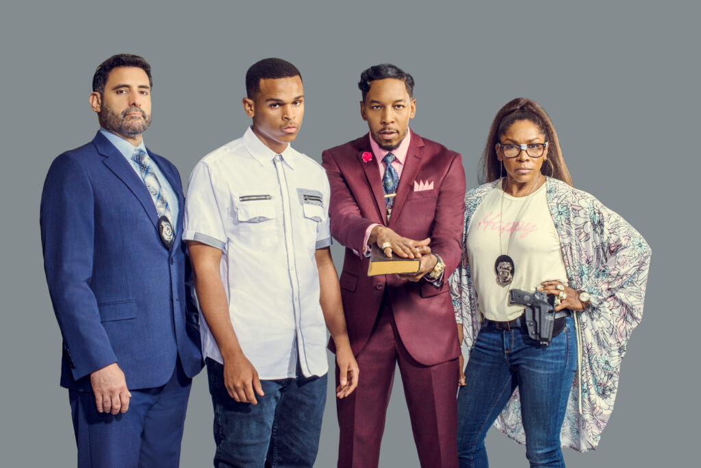 """A.J. Johnson Stars in TV One's """"Sins Of The Father"""""""