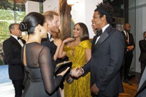 Royal Couple & Beyonce and Jay Z