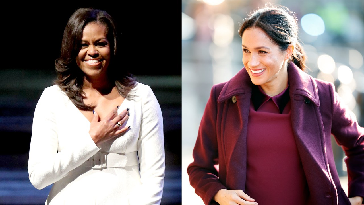 Meghan Markle and Michelle Obama Get Real For British Vogue
