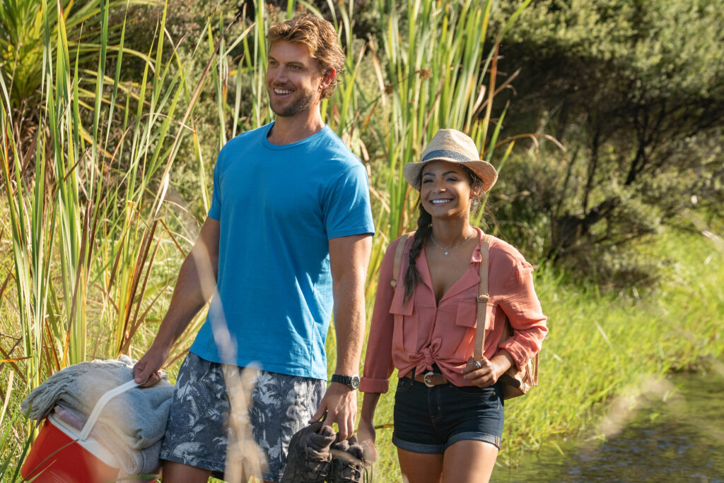 A Netflix Film: Falling Inn Love Featuring Christina Milian